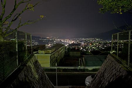 毘沙門台公園の夜景