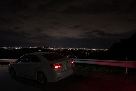 精進ブルーラインの夜景