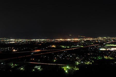 坊ヶ峰の夜景