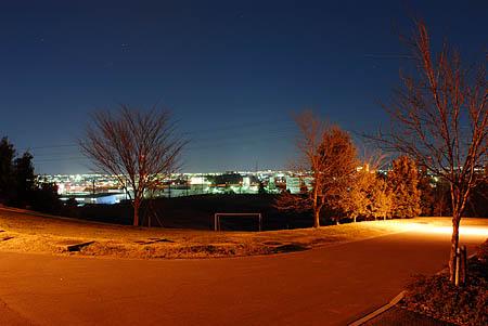 ぼうさいの丘の夜景