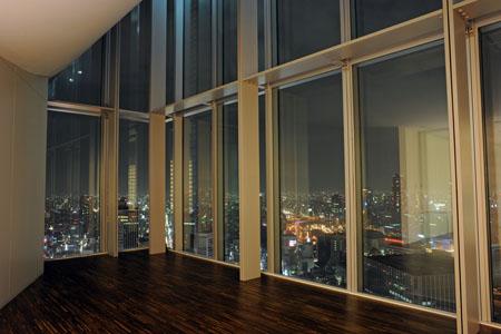 ブリーゼタワーの夜景