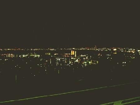 R161バイパスの夜景