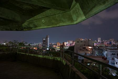 センター公園の夜景