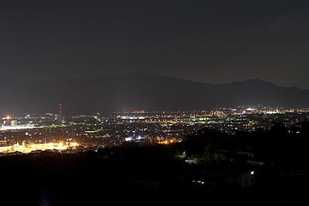 茶臼山の夜景