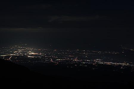 チェリーパークラインの夜景