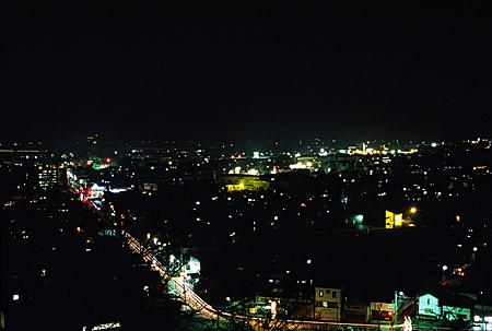 千葉公園の夜景