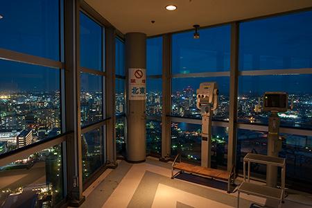 千葉ポートタワーの夜景