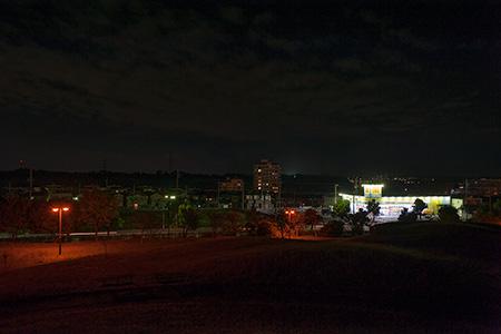 ちはら台公園の夜景