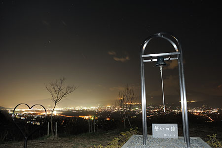 誓いの丘の夜景