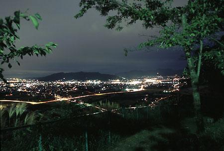 千曲公園の夜景