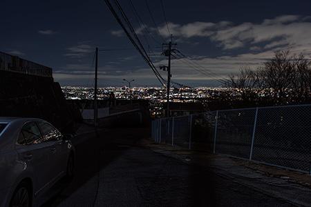 長楽寺付近の夜景
