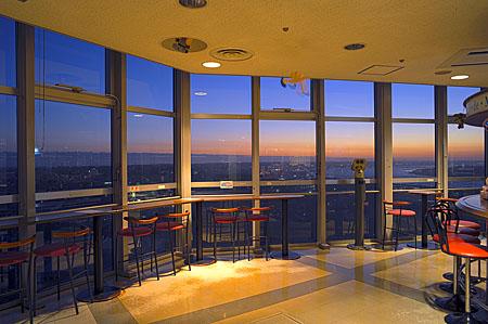 銚子ポートタワーの夜景