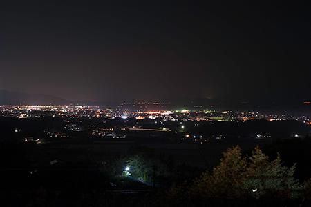 おおむら夢ファーム シュシュの夜景