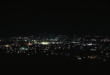 長法寺多宝塔の夜景