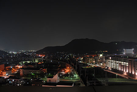コラッセふくしまの夜景