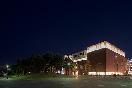 カップヌードル ミュージアム パークの夜景