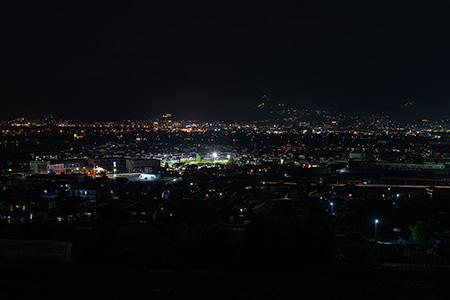 大安寺遺跡の夜景