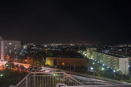 ダイエー金沢八景店 金沢八景展望室の夜景