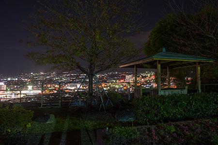 大観山町の夜景