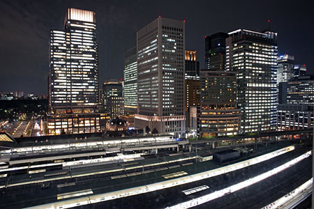 大丸 東京店 12階の夜景