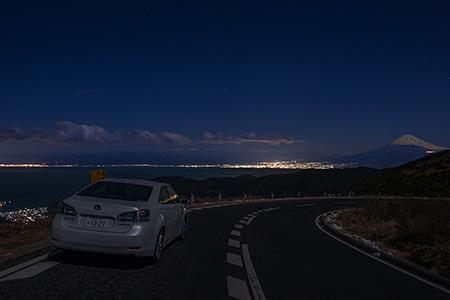達磨山の夜景