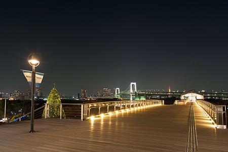 デックス東京ビーチの夜景
