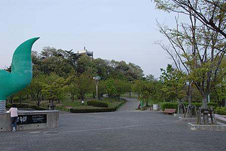 藤が丘デザイン公園の夜景