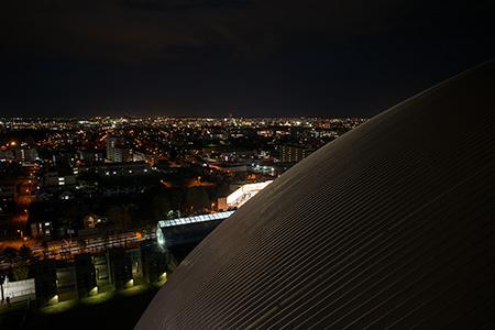 札幌ドーム 展望台の夜景