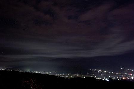 道光高原緑地公園の夜景