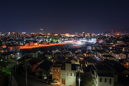 東壱町田みどり野公園の夜景