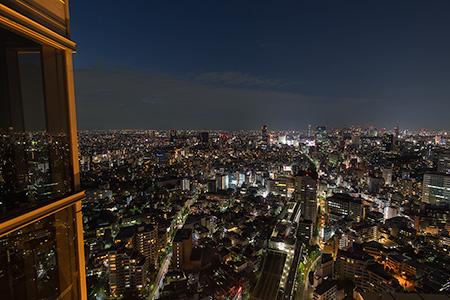 恵比寿ガーデンプレイスタワー スカイラウンジの夜景
