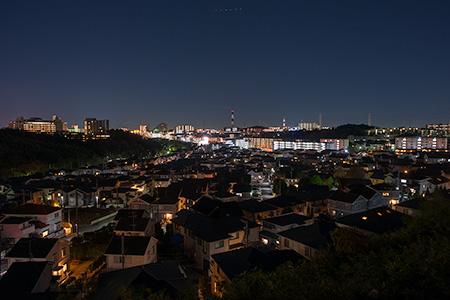 荏田南の夜景
