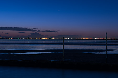 江川海岸の夜景