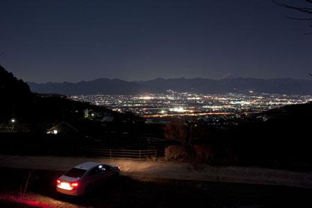 永昌院前の夜景