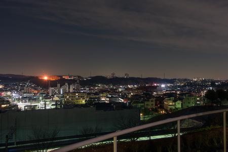 エミネンス長池の夜景