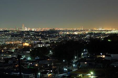 円海山の夜景