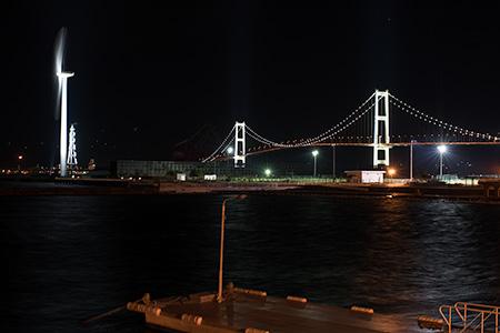 絵鞆臨海公園の夜景