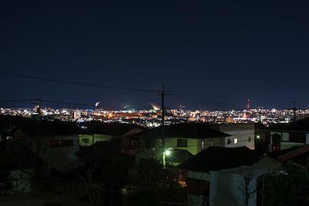 松林公園の夜景