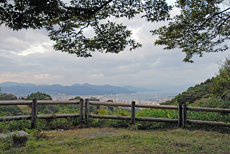 富嶽台の夜景