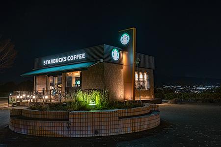 富士川SAの夜景