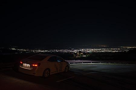 富士箱根ランドの夜景