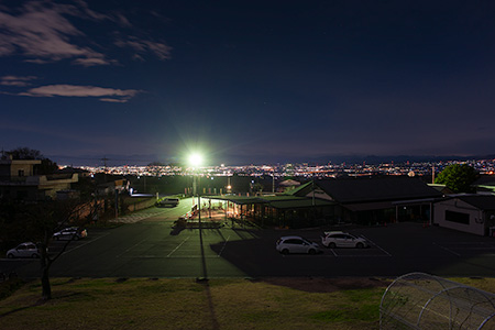道の駅ふじみの夜景