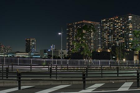 富士見橋の夜景