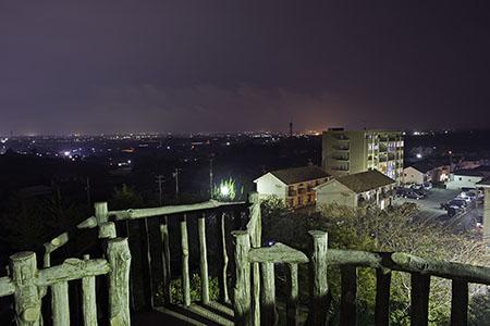 富士見台第四公園の夜景