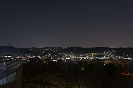 富士見台公園の夜景