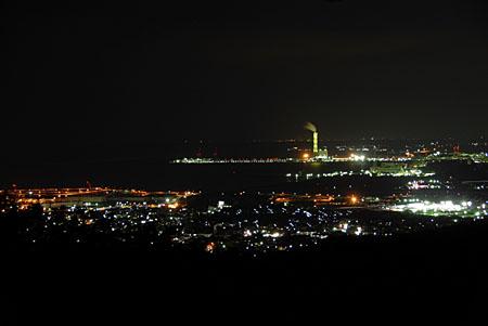 風神山の夜景