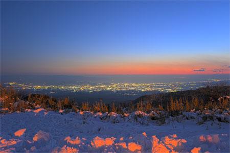フジビュー 芦ノ湖スカイラインの夜景