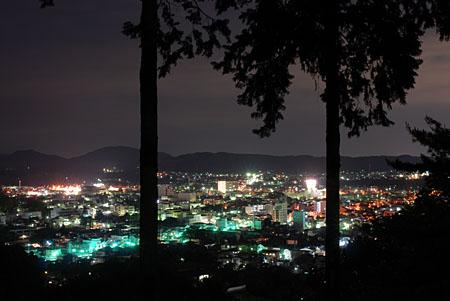 富士山公園の夜景