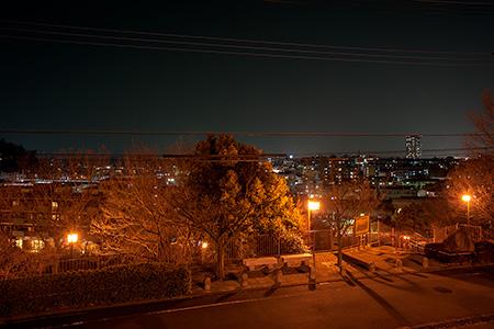 藤谷戸公園の夜景