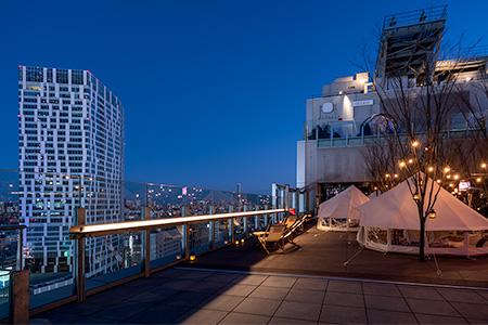 渋谷フクラス SHIBU NIWAの夜景